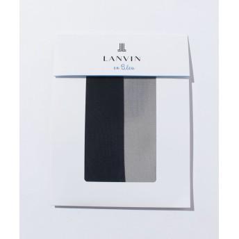 (LANVIN en Bleu(ladies socks)/ランバンオンブルーレディスソックス)着圧パンスト(L-LL)/レディース サフィール