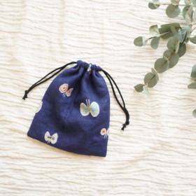 ミナペルホネン 通園グッズ きんちゃく袋 3サイズあり 通園グッズシリーズ