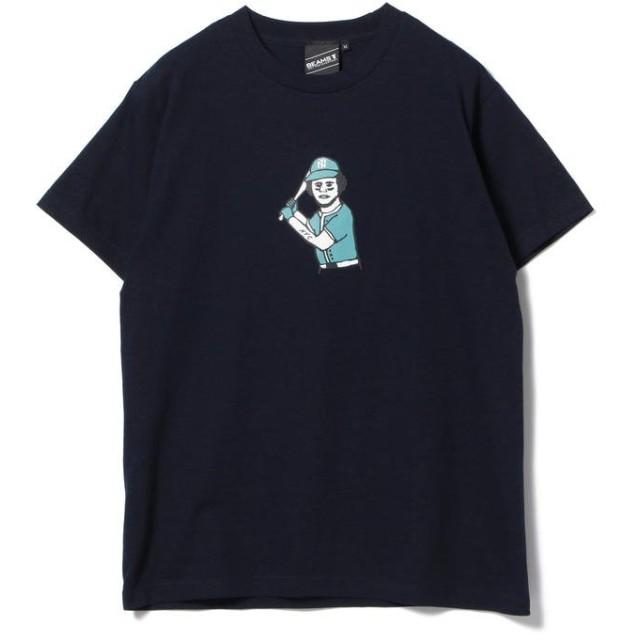 (BEAMS MEN/ビームス メン)【SPECIAL PRICE】BEAMS T / Connie Print Tee/メンズ NAVY