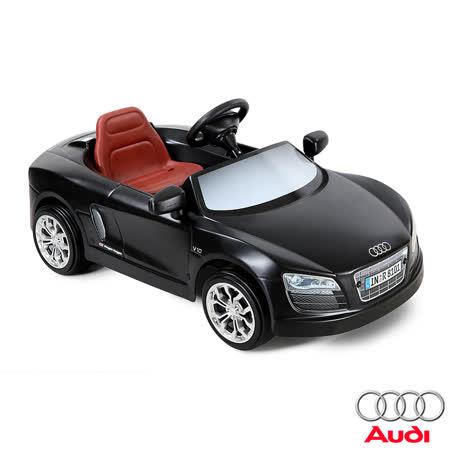 【AUDI奧迪】全台獨家 R8 12V充電式 電動兒童乘座車(原車縮小比例) 跑車型