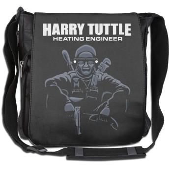 ショルダーバッグ メッセンジャーバッグ Brazil Movie Harry Tuttle Single Shoulder Pack メンズ 斜め掛けバッグ クロスボディバッグ レジャーバッグ 2WAY ラウンドファスナー 肩掛け カジュアル 大容量 シンプル 縦型 手提鞄