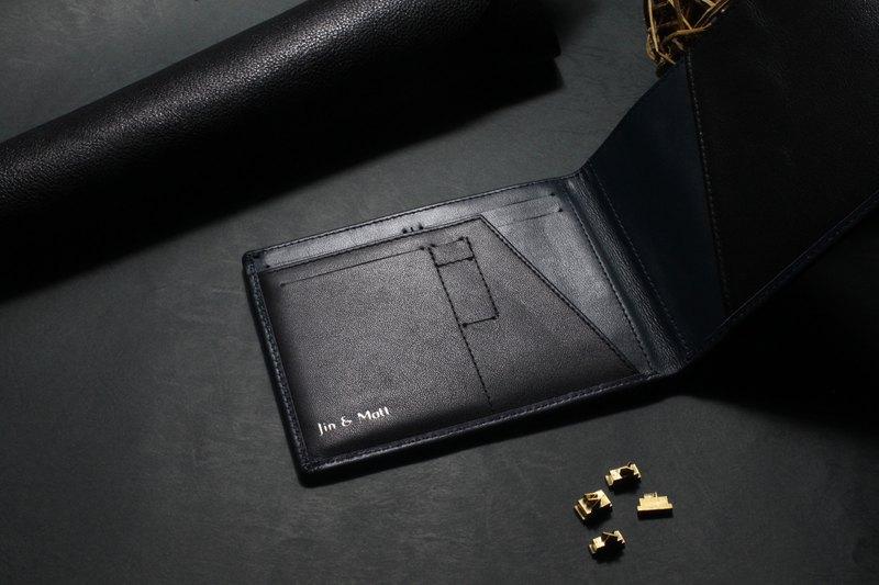 海軍 - Eleutherios 旅行皮夾 帶RFID防盜保護