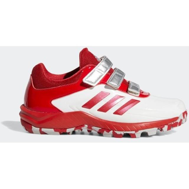 返品可 アディダス公式 シューズ スポーツシューズ adidas アディゼロ スタビル ポイント ロー AC / Adizero Stabile Point Low AC Cleats