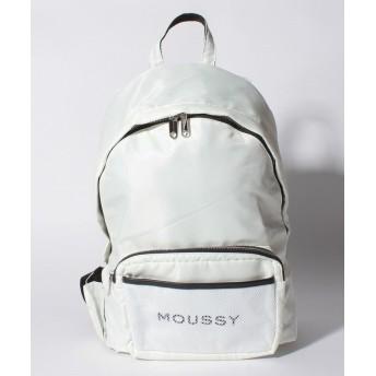 (MOUSSY(BAG)/マウジー バッグ)【MOUSSY】【MOUSSY】LOGO NYLON RYUCK/レディース OWH