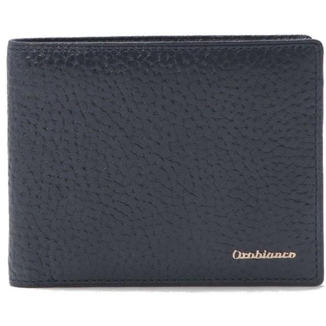 (Orobianco(Wallet・Belt・Stole)/オロビアンコサイフベルトマフラー)札入れ(ORS-022008)/メンズ NAVY