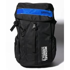 (MICHAEL LINNELL/マイケルリンネル)MICHAEL LINNELL(マイケルリンネル)Big Backpack ML-008/ユニセックス ブルー