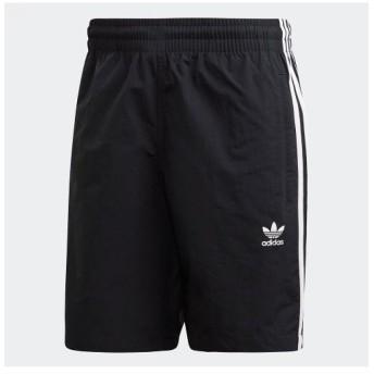 (adidas/アディダス)アディダス/メンズ/3-STRIPES SWIM SHORTS/メンズ ブラック