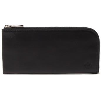 (Orobianco(Wallet・Belt・Stole)/オロビアンコサイフベルトマフラー)ラウンドファスナー長財布(ORS-041808)/メンズ BLACK