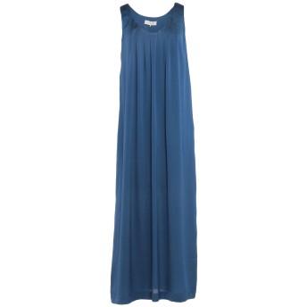 《セール開催中》L' AUTRE CHOSE レディース ロングワンピース&ドレス ブルー 38 ポリエチレン 100%
