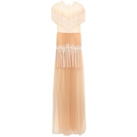 《セール開催中》ELISABETTA FRANCHI レディース ロングワンピース&ドレス ライトピンク 42 ナイロン 100%