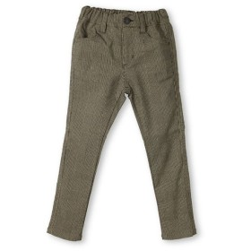(branshes/ブランシェス)プレミアムストレッチチェック柄パンツ(80~150cm)/レディース ベージュ