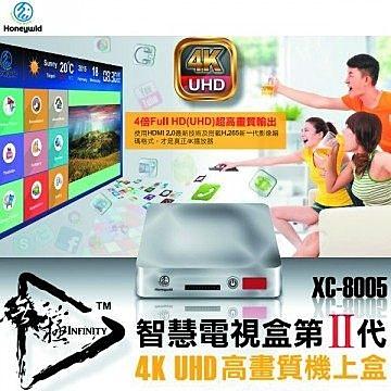 {光華新天地創意電子}【Jing-Store】Honeywld Android安卓四核心高畫質智慧電視盒(XC-8005)  喔!看呢來
