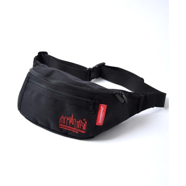 (SHIPS MEN/シップス メン)Manhattan Portage: 別注 Embroidery Alleycat Waist Bag/メンズ ブラック