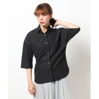 (allureville/アルアバイル)【STORY 6月号掲載】 タイプライタービッグシャツ/レディース ブラック