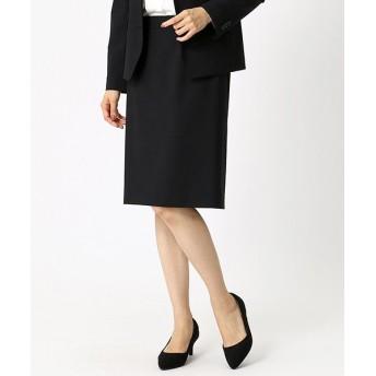 (COMME CA ISM/コムサイズムレディス)【セットアップ対応商品】ウールトロ セットアップスカート/レディース ブラック