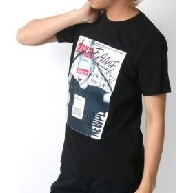 (MARUKAWA/マルカワ)エンボスガールフォト 半袖Tシャツ/メンズ 柄3
