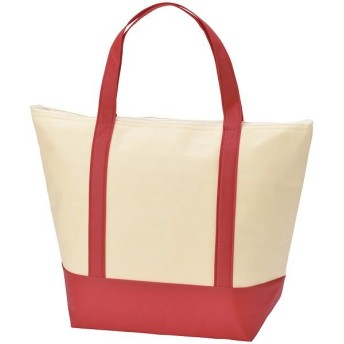 (BACKYARD/バックヤード)保冷保温トートバッグ お買い物バッグ/ユニセックス レッド