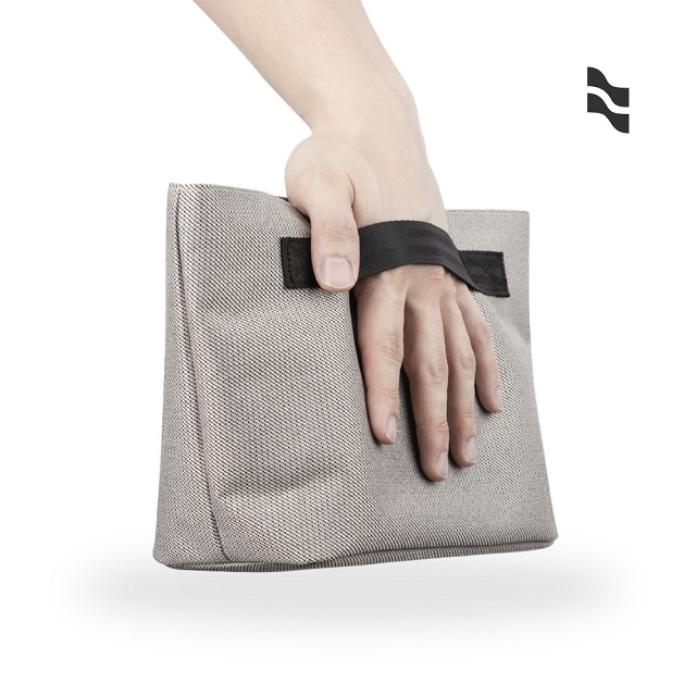 【LOJEL】Toiletry Case 軟殼盥洗包 化妝包 收納包-灰色
