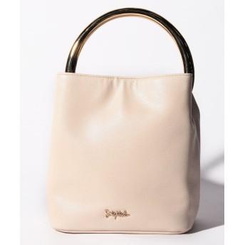 (SMIR NASLI/サミールナスリ)Metal Handle Bag/レディース OWHITE