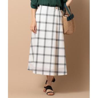 (any SiS S/エニスィスチイサイサイズ)【洗える】ライトサマーフレア スカート/レディース ホワイト系2