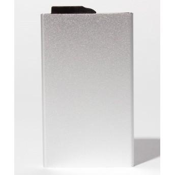 (SELECT/セレクト)〈CARDHODA/カードホダ〉アルミニウムカードケース 5枚収納スライド式タイプ/ユニセックス シルバー