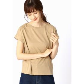 (COMME CA ISM/コムサイズムレディス)【シンプル / ベーシック】 Tシャツ/レディース ベージュ