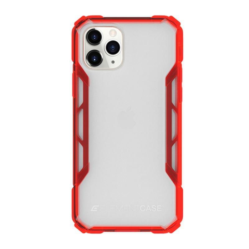 iPhone 11 Pro Max Rally 抗刮科技軍規殼 - 透紅