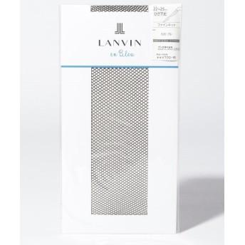 (LANVIN en Bleu(ladies socks)/ランバンオンブルーレディスソックス)メッシュ柄(ひざ下丈)/レディース ソワレ