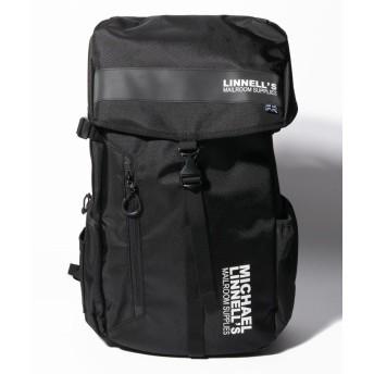 (MICHAEL LINNELL/マイケルリンネル)MICHAEL LINNELL(マイケルリンネル)Big Backpack ML-008/ユニセックス BLACK