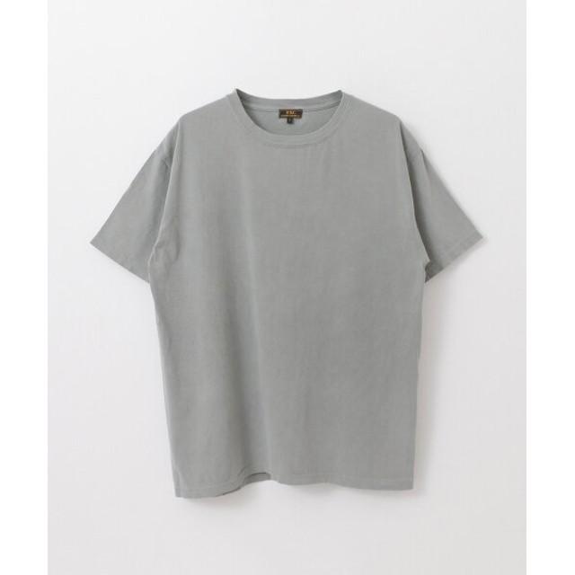 (URBAN RESEARCH/アーバンリサーチ)FREEMANS SPORTING CLUB Garment Dyed T-SHIRTS/メンズ GREY