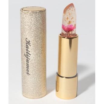(SELECT/セレクト)〈Kailijumei/カイリジュメイ〉Flower Lipstick/フラワーリップ (日本限定ゴールドケースモデル)/ユニセックス レッド系その他