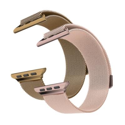 Apple watch 42/44mm 金屬磁吸鍊錶帶