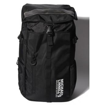 (MICHAEL LINNELL/マイケルリンネル)MICHAEL LINNELL(マイケルリンネル)Big Backpack ML-008/ユニセックス ブラック系