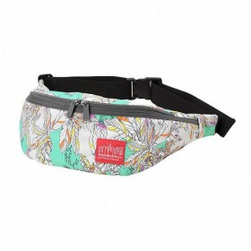 (Manhattan Portage/マンハッタン ポーテージ)Liberty Fabric Brooklyn Bridge Waist Bag/ユニセックス GRN/GRY