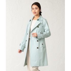 (SANYO COAT/サンヨーコート)<Spring Coat>ベンタイルOXダブルトレンチコート/レディース ブルー