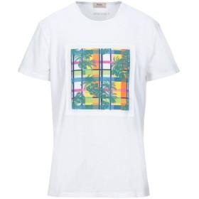 《セール開催中》RODA AT THE BEACH メンズ T シャツ ホワイト L コットン 100% / ナイロン
