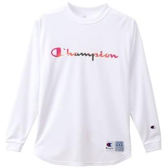 (Champion/チャンピオン)チャンピオン/レディス/WOMENS DRYSAVER LOMG T/レディース ホワイト