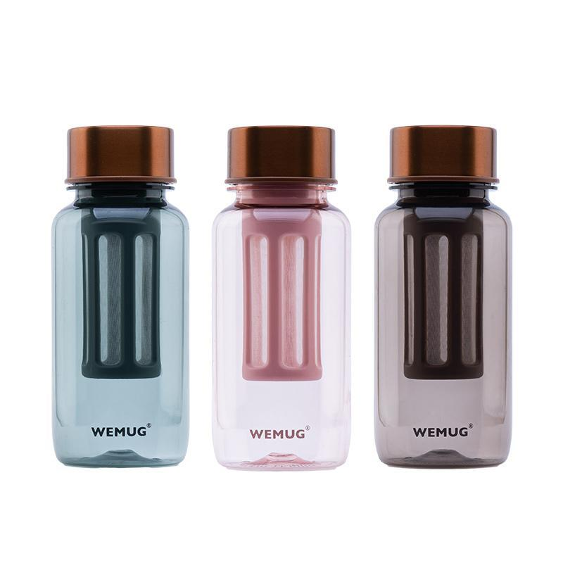 隨身冷泡式水瓶365Days銅蓋系列 琉璃啡