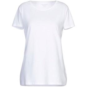 《セール開催中》MAJESTIC FILATURES レディース T シャツ ホワイト 3 コットン 100%