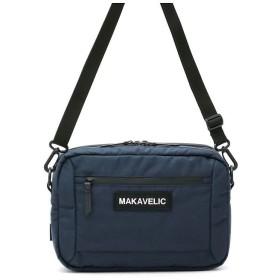 (MAKAVELIC/マキャベリック)マキャベリック ショルダーバッグ MAKAVELICバッグ TRUCKS BILAYER POUCH BAG トラックス 3108-10501/ユニセックス ネイビー