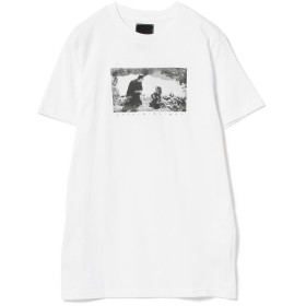 (BEAMS OUTLET/ビームス アウトレット)am / FRANKENSTEIN Tシャツ/レディース WHITE