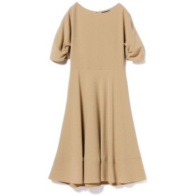 (BEAMS OUTLET/ビームス アウトレット)Demi-Luxe BEAMS / タック ドルマンスリーブ ワンピース/レディース BEIGE