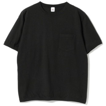 (BEAMS OUTLET/ビームス アウトレット)FRUIT OF THE LOOM × BEAMS / 別注 クルーTシャツ/メンズ BLACK