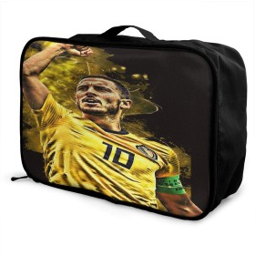 旅行用収納バッグ Eden Hazard タウンリュック、持ち運びが簡単、人気のハンドバッグ 日常の保管袋、ハンドバッグ、出張用の荷物袋などに使用できます。