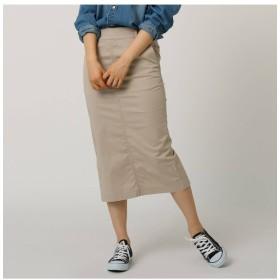 【ジェット/JET】 【洗える】チノストレッチ タイトミディスカート
