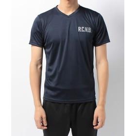 (Number/ナンバー)ナンバー/メンズ/R.C.N.B. ベーシック RUN VネックTシャツ/メンズ ネイビー