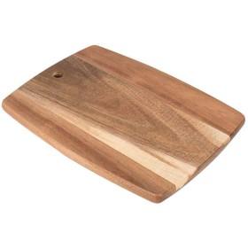 DJJSGSB まな板 AOLIキッチン長方形ボード、大型天然木リバーシブルまな板、BPAフリーカッティング、すべり止め、11.7「X9」