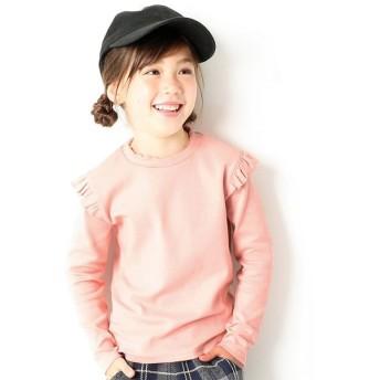 (devirock/デビロック)キッズ 子供服 ガールズデザインロングTシャツカットソー 女の子/ その他系4