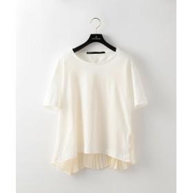(LOVELESS WOMEN/ラブレス)【muller of yoshiokubo】WOMENS バックギャザーTシャツ/レディース オフホワイト