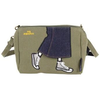 (BACKYARD/バックヤード)ミスサパト mis zapatos b6544 ロングスカート ポーチ/レディース カーキ
